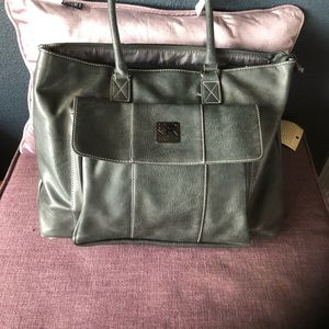 3 compartment Office tote